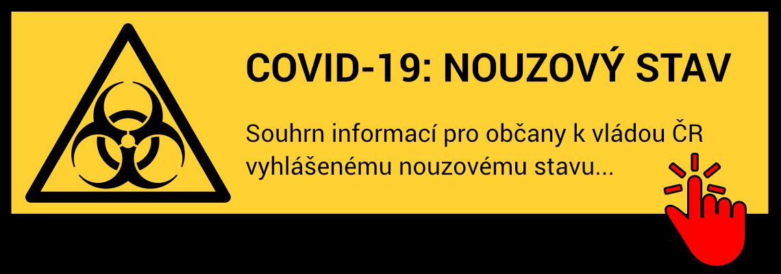 Souhrn informací pro občany k vládou ČR vyhlášenému nouzovému stavu...