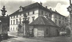 historické foto zámku