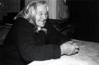 Anna Hlaváčková - p. Anna Hlaváčková - * 1907, + 1990