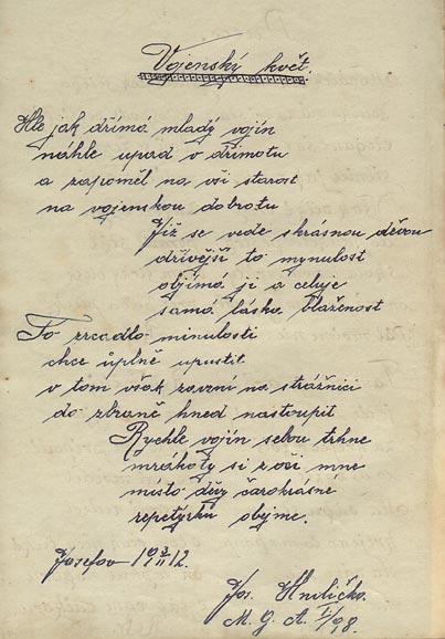 Zápisky p. Hniličky
