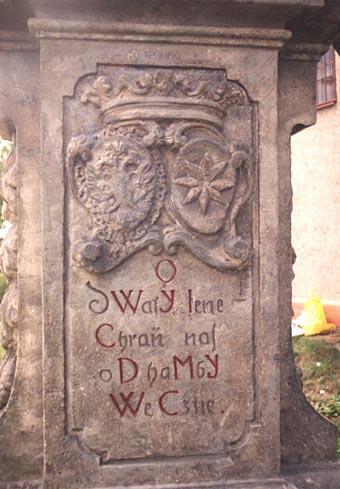 Detail sochy sv. Jana z Nepomuku