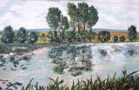 Rybník Ovčín - Zdechovice - rybník Ovčín