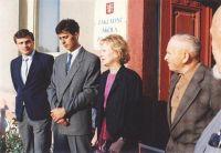 Znovuotevření základní školy 1.9. 1991