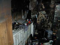 Požár bytu Chvaletice - 31.1.07 #07