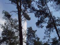 Požár Jankovice-8 pomoc vrtulníku