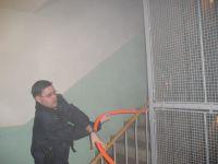 Požár bytu Chvaletice - 31.1.07 #01