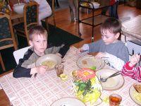 Oběd ve školní jídelně