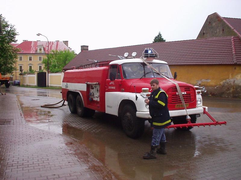 Mraky nad Zdechovicema - potopa #6
