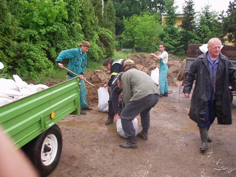 Mraky nad Zdechovicema - potopa #8
