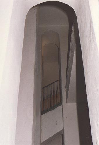 Zrcadlo schodiště