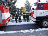 Požár bytu Chvaletice-vánoční stomek 06-4