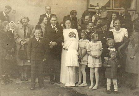 Josef a Marie Říhovi - svatba