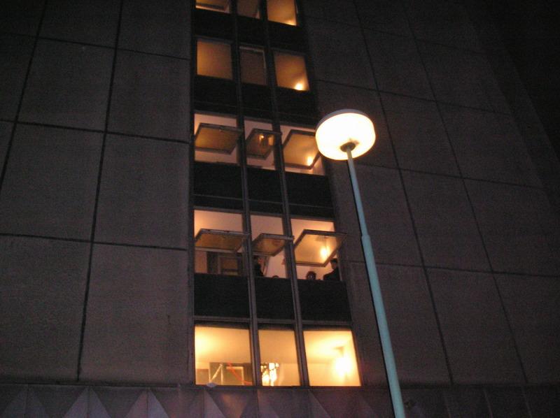 Požár bytu Chvaletice - 31.1.07 #02
