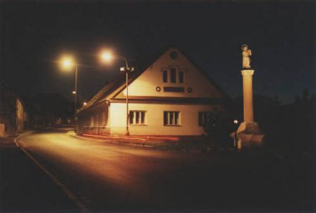 Hospoda U Chuticů - v noci