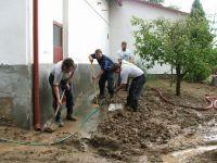 Pomoc po povodni -Rozhovice 1