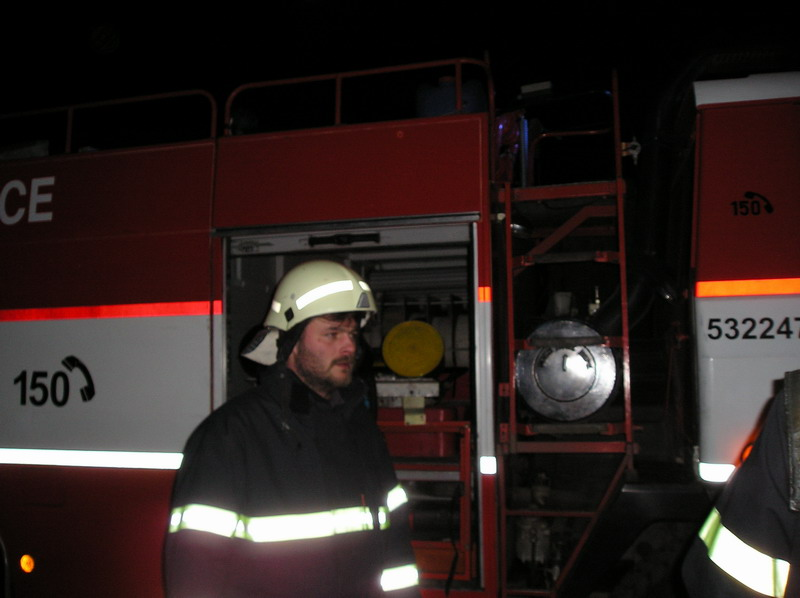 Požár bytu Chvaletice - 31.1.07 #05